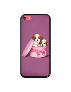 Coque Chien Dog Boite Noeud pour iPhone 5C - Maryline Cazenave