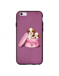 Coque Chien Dog Boite Noeud pour iPhone 6 - Maryline Cazenave