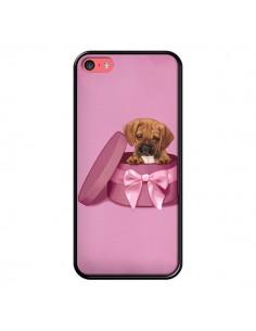 Coque Chien Dog Boite Noeud Triste pour iPhone 5C - Maryline Cazenave