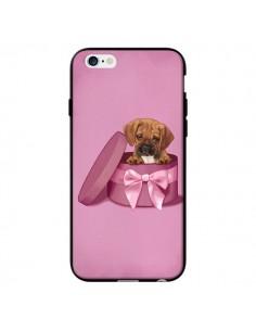 Coque Chien Dog Boite Noeud Triste pour iPhone 6 - Maryline Cazenave