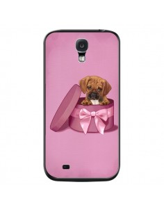 Coque Chien Dog Boite Noeud Triste pour Samsung Galaxy S4 - Maryline Cazenave