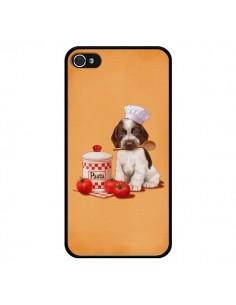 Coque Chien Dog Pates Pasta Cuisinier pour iPhone 4 et 4S - Maryline Cazenave
