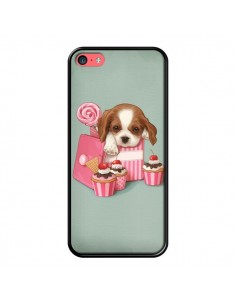 Coque Chien Dog Cupcake Gateau Boite pour iPhone 5C - Maryline Cazenave