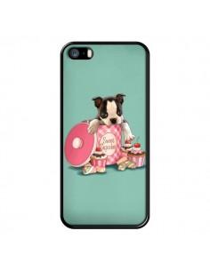 Coque Chien Dog Cupcakes Gateau Boite pour iPhone 5 et 5S - Maryline Cazenave
