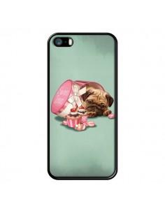 Coque Chien Dog Cupcakes Gateau Bonbon Boite pour iPhone 5 et 5S - Maryline Cazenave