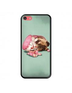 Coque Chien Dog Cupcakes Gateau Bonbon Boite pour iPhone 5C - Maryline Cazenave
