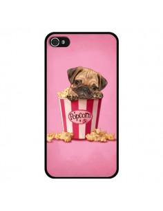 Coque Chien Dog Popcorn Film pour iPhone 4 et 4S - Maryline Cazenave