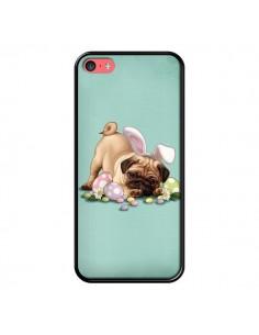 Coque Chien Dog Rabbit Lapin Pâques Easter pour iPhone 5C - Maryline Cazenave