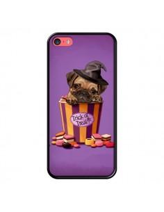 Coque Chien Dog Halloween Sorciere Bonbon pour iPhone 5C - Maryline Cazenave