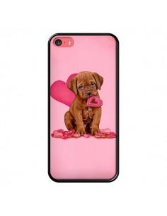 Coque Chien Dog Gateau Coeur Love pour iPhone 5C - Maryline Cazenave