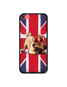 Coque Chien Dog Anglais UK British Queen King Roi Reine pour iPhone 5C - Maryline Cazenave