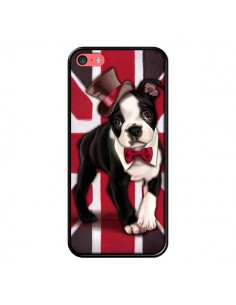 Coque Chien Dog Anglais UK British Gentleman pour iPhone 5C - Maryline Cazenave