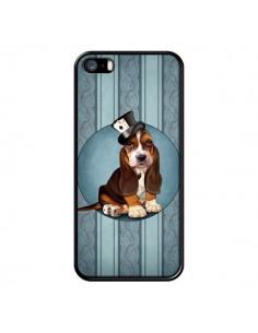 Coque Chien Dog Jeu Poket Cartes pour iPhone 5 et 5S - Maryline Cazenave