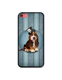 Coque Chien Dog Jeu Poket Cartes pour iPhone 5C - Maryline Cazenave