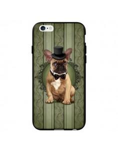 Coque Chien Dog Bulldog Noeud Papillon Chapeau pour iPhone 6 - Maryline Cazenave