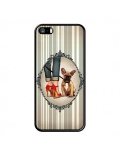 Coque Lady Jambes Chien Dog pour iPhone 5 et 5S - Maryline Cazenave