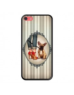 Coque Lady Jambes Chien Dog pour iPhone 5C - Maryline Cazenave