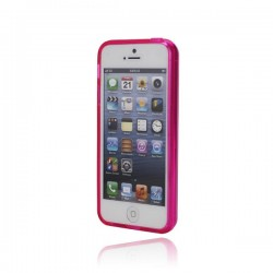 Coque Translucide en Silicone pour iPhone 5