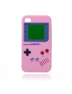 Coque Game Boy en Silicone pour iPhone 4/4S