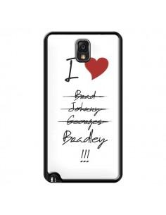 Coque I love Bradley Coeur Amour pour Samsung Galaxy Note IV - Julien Martinez