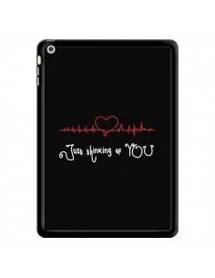 Coque Just Thinking of You Coeur Love Amour pour iPad Air - Julien Martinez