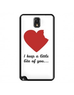 Coque I Keep a little bite of you Coeur Love Amour pour Samsung Galaxy Note IV - Julien Martinez