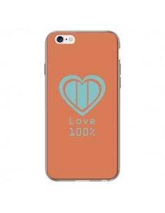 Coque Love 100% Coeur Amour pour iPhone 6 Plus - Julien Martinez