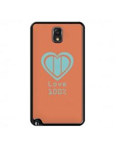 Coque Love 100% Coeur Amour pour Samsung Galaxy Note IV - Julien Martinez