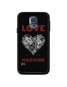 Coque Love Machine Coeur Amour pour Samsung Galaxy S5 - Julien Martinez