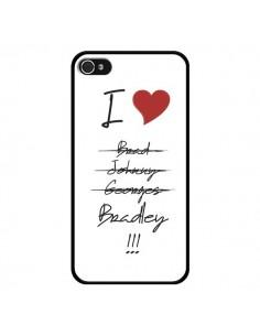 Coque I love Bradley Coeur Amour pour iPhone 4 et 4S - Julien Martinez