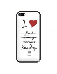 Coque I love Bradley Coeur Amour pour iPhone 5 et 5S - Julien Martinez