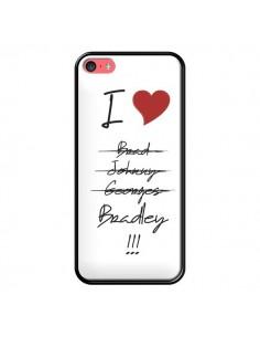 Coque I love Bradley Coeur Amour pour iPhone 5C - Julien Martinez