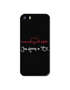 Coque Just Thinking of You Coeur Love Amour pour iPhone 5 et 5S - Julien Martinez