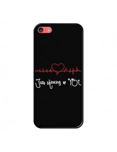 Coque Just Thinking of You Coeur Love Amour pour iPhone 5C - Julien Martinez
