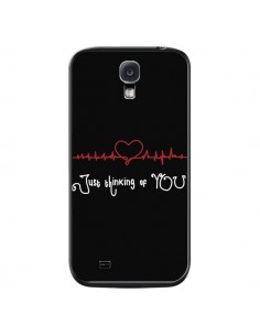 Coque Just Thinking of You Coeur Love Amour pour Samsung Galaxy S4 - Julien Martinez