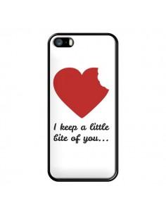 Coque I Keep a little bite of you Coeur Love Amour pour iPhone 5 et 5S - Julien Martinez