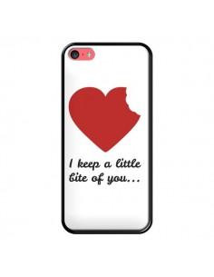 Coque I Keep a little bite of you Coeur Love Amour pour iPhone 5C - Julien Martinez