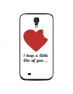 Coque I Keep a little bite of you Coeur Love Amour pour Samsung Galaxy S4 - Julien Martinez