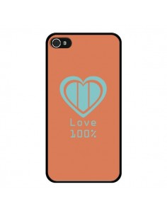 Coque Love 100% Coeur Amour pour iPhone 4 et 4S - Julien Martinez