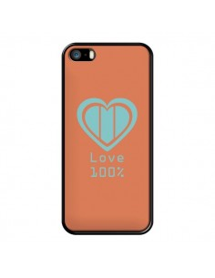 Coque Love 100% Coeur Amour pour iPhone 5 et 5S - Julien Martinez