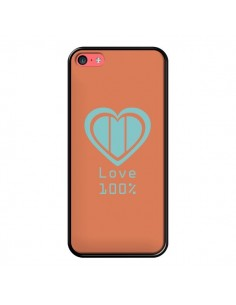 Coque Love 100% Coeur Amour pour iPhone 5C - Julien Martinez