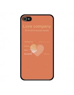 Coque Love Company Coeur Amour pour iPhone 4 et 4S - Julien Martinez