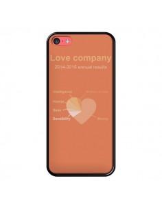 Coque Love Company Coeur Amour pour iPhone 5C - Julien Martinez