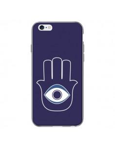 Coque Main de Fatma Oeil Bleu pour iPhone 6 Plus - Laetitia