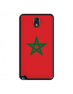 Coque Drapeau Maroc Marocain pour Samsung Galaxy Note IV - Laetitia