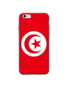 Coque Drapeau Tunisie Tunisien pour iPhone 6 Plus - Laetitia