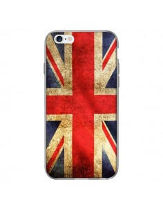 Coque Drapeau Angleterre Anglais UK pour iPhone 6 Plus - Laetitia