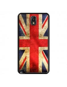 Coque Drapeau Angleterre Anglais UK pour Samsung Galaxy Note IV - Laetitia