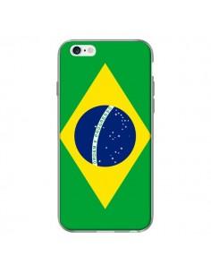 Coque Drapeau Brésil Brésilien pour iPhone 6 Plus - Laetitia
