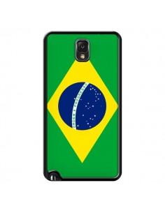 Coque Drapeau Brésil Brésilien pour Samsung Galaxy Note IV - Laetitia
